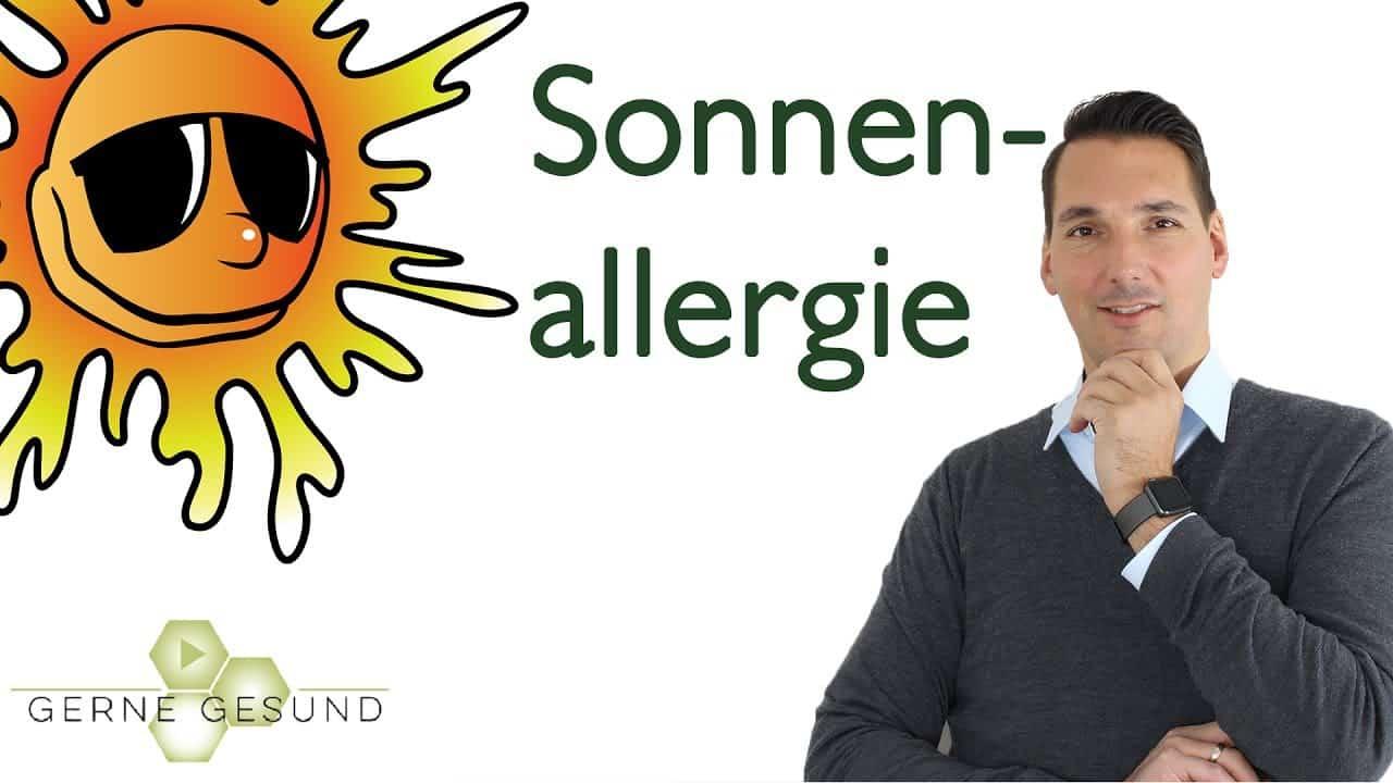 vorbeugen gegen sonnenallergie